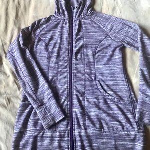 Free2Be - long line hoodie M